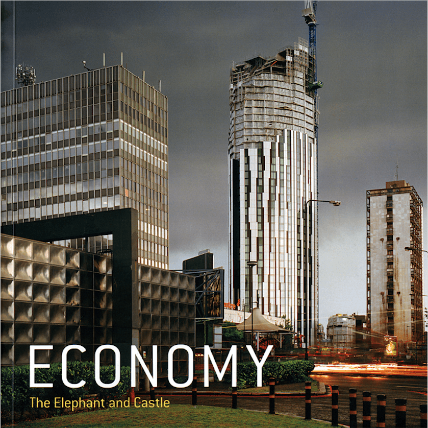 Economy: The Elephant and Castle. Image rights: Patrick Sutherland.