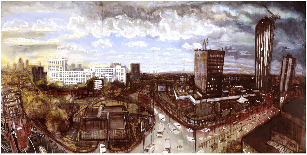 Elephant and Castle, Elephant and Castle Tin Paintings. Image rights: Ruben Powell.