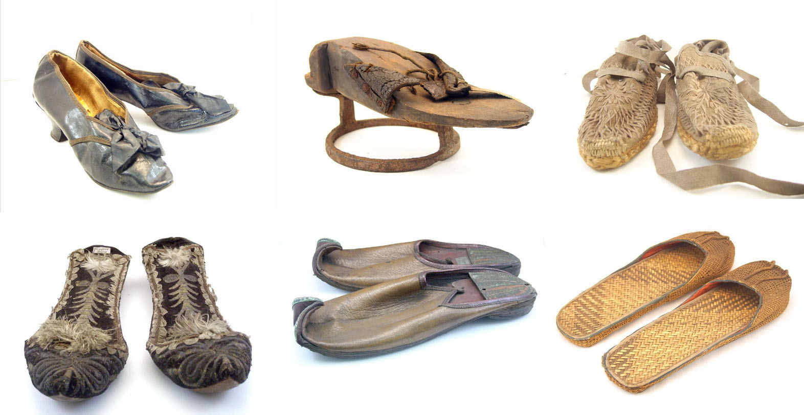 Some of the shoes held in the Cuming Museum's Collection.
