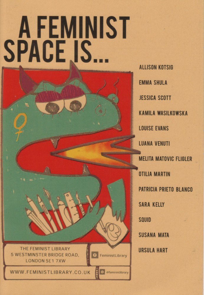 Cover, A Feminist Space Is...