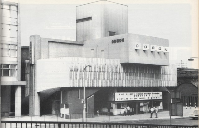 Odeon at Alexander Fleming House (now Metro Central Heights).