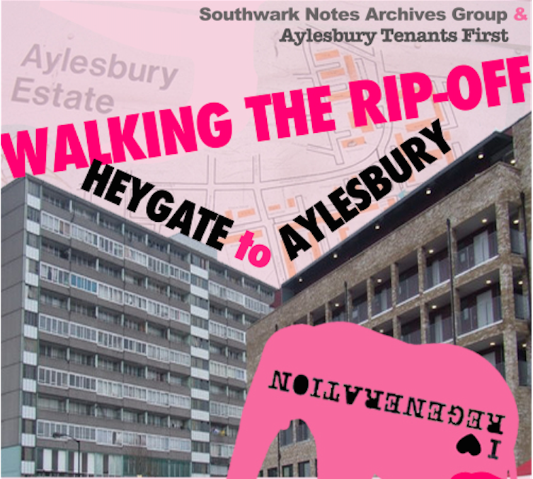 Walking The Rip-Off, April 2013. Southwark Notes Archive Group.